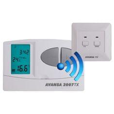 Avansa Bezdrôtový programovateľný termostat AVANSA 2007 TX
