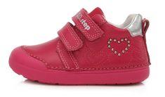 D-D-step 066-440B cjelogodišnje cipele za djevojčice, kožne
