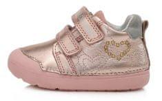 D-D-step 066-440 cjelogodišnje cipele za djevojčice, kožne