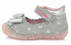 D-D-step 015-641B sandale za djevojčice, kožne