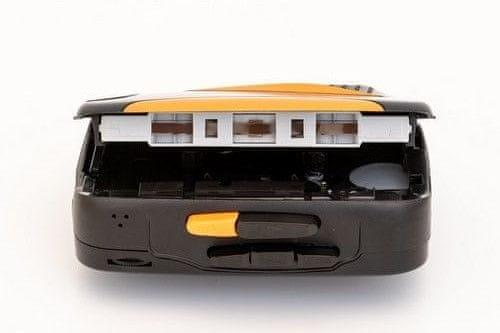 moderní walkma gpo retro casette walkman bluetooth mikrofon pro hlasový záznam zabudovaný reproduktor 5 funkčních tlačítek fm rádio funkce automatického zastavení aa baterie sluchátka v balení