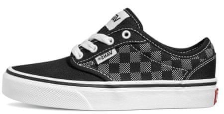 Vans gyerek sportcipő YT Atwood Checker Dot VN000KI537L, 37, fekete