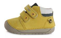 D-D-step 070-387A bőrből készült fiú barefoot cipő
