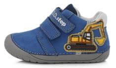 D-D-step 070-506C bőrből készült fiú barefoot cipő