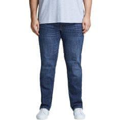 Jack&Jones Plus Pánské džíny Slim Fit JJITIM JJORIGINAL 12153646 Blue Denim