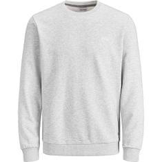 Jack&Jones Męska bluza Regular Fit JCOSCHULTZ 12185068LightGrey Melange