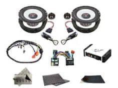 Audio-system SET - kompletní ozvučení do Škoda Octavia II (2004-2013) - UPGRADE 1