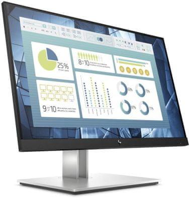 Monitor HP E27 G4 (9VG71AA) - FHD gaming office, multi-tasking