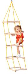 Woody Povrazový rebrík štvorhranný