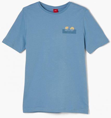 s.Oliver fiú póló 402.10.011.12.130.2055140, M, kék