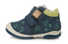 D-D-step Fiú bőr magasszárú cipő 038-361