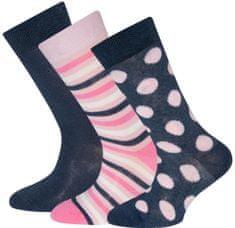 EWERS 3pack dívčích ponožek 201200