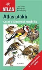 Jan Dungel: Atlas ptáků České a Slovenské republiky