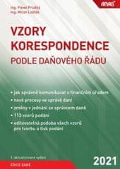 Prudký Pavel, Lošťák Milan: Vzory korespondence podle daňového řádu