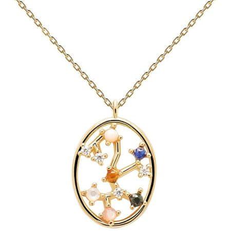 PD Paola Eredeti aranyozott nyaklánc Nyilas SAGITARIUS CO01-352-U (lánc, medál) ezüst 925/1000