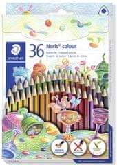 Staedtler kredki kolorowe Noris Colour, 36 kolorów, trójkątne