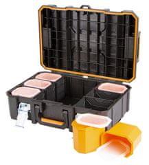 Tactix Vodotesný plastový kufor 528 x 371 x 179 - TC320360
