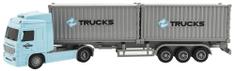 Teddies ciężarówka z pojemnikami 33 cm