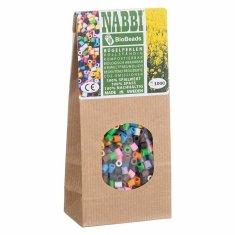 nabbi Zažehlovací korálky bio (1000ks) mix barev,
