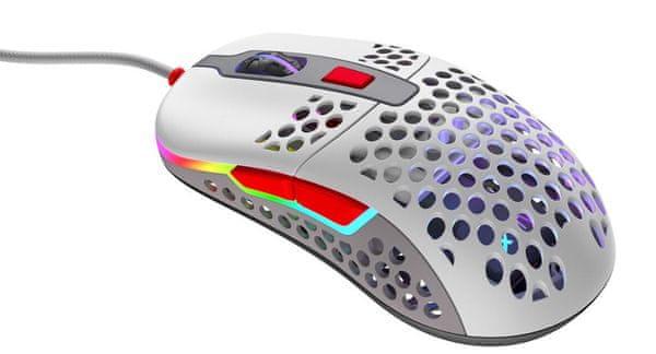 Mysz optyczna - czułość 16 000 DPI, płynna gra, waga 59 g