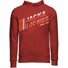 Jack&Jones Bluza męska JCOALPHA 12188035Red Ochra