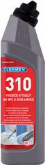 Cleamen CLEAMEN 310 vysoko kyslý na WC a keramiku 0,75 l
