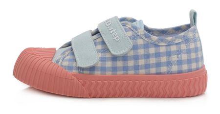 D-D-step CSG-155B lány vászon sportcipő, 21, kék