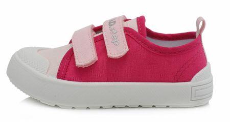 D-D-step Lány vászon tornacipő CSG-158A, 20, rózsaszín