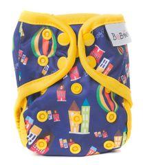 Bobánek Novorozenecké svrchní kalhotky patentky