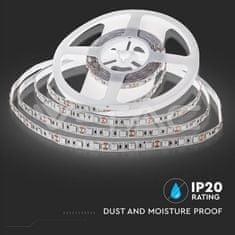 V-TAC LED pásek 5050 60 LED/m teplá bílá 5m
