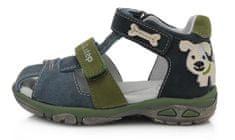 D-D-step sandały skórzane chłopięce AC290-612