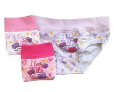 EMY Bimba Emy Bimba 2239 11/12-146/152 3ks dívčí kalhotky