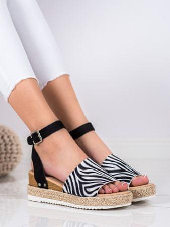 Női szandál 69294 + Nőin zokni Gatta Calzino Strech, állatminták, 38