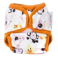 Bobánek Novorozenecké svrchní kalhotky extra jemné patentky - Zvířátka