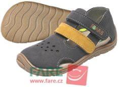 Fare detské barefoot sandále 5164261