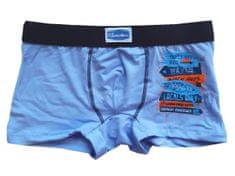 Gasolino 3250 chlapecké boxerky Barva: modrá světlá, Velikost oblečení: 7-122