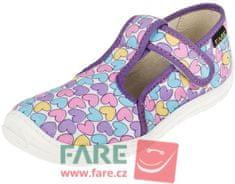 Fare dievčenské barefoot papuče 5102492