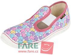 Fare dievčenské barefoot papuče 5101451/5201451-2