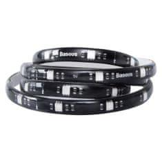 BASEUS Samolepící LED pásek SMD RGB 5 W 1 m černý (DGRGB-01)