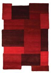 Flair Ručně všívaný kusový koberec Abstract Collage Red