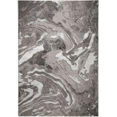 Flair Kusový koberec Eris Marbled Silver