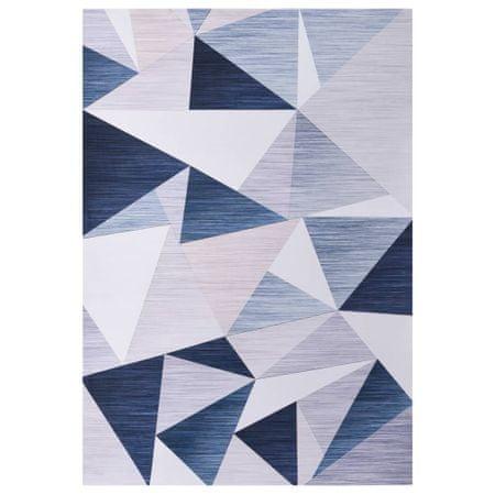 shumee többszínű mintás szövetszőnyeg 140 x 200 cm