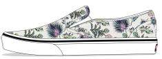 Vans tenisice slip-on za djevojke UY Classic Slip-On Paradise Flora VN0A4BUT30R1