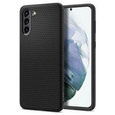 Spigen Liquid Air silikonski ovitek za Samsung Galaxy S21 Plus, črna