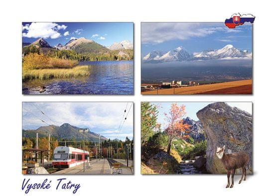 tvorme pohľadnica Vysoké Tatry b62