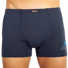Gino Pánské boxerky modré (73083)