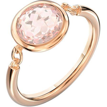 Swarovski Rózsaszín aranyozott gyűrű TAHLIA 5560948 (Kerület 60 mm)