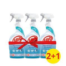 Savo Klórmentes fertőtlenítő spray vízkőre 3 x 700 ml