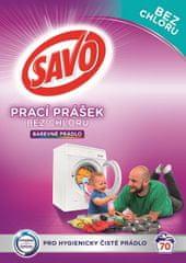 Savo Prací prášok na farebnú bielizeň 5 kg (70 praní)