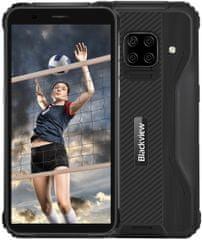iGET Blackview BV5100 mobitel, 4GB/128GB, crni